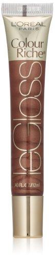 L'Oréal Paris Colour Riche Le Gloss, Chocolate Obsession, 0.4 fl. oz.