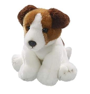 Carl Dick Peluche - Perro Jack Russell Terrier (Felpa, 22cm) [Juguete]