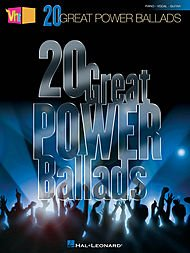 Hal Leonard VH1's 20 Great Power Ballads arranged for piano, vocal, and guitar ()