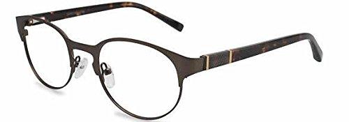 Jones New York Eyeglasses J339 Brown :: DEMO LENS