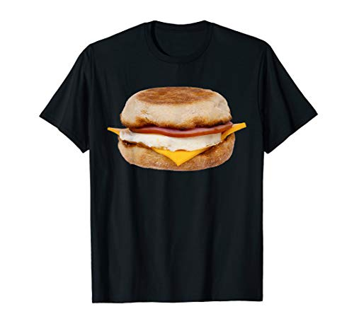 Breakfast Sandwich Shirt Eggs Cheese Savory -