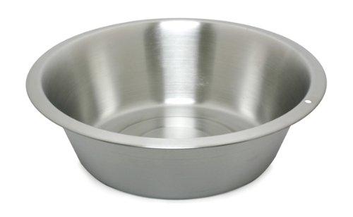 Lindys 48850 8.5 Quart Stainless Steel Flat Bottom Dish Pan