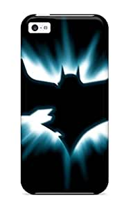 Tpu Phone Case With Fashionable Look For Iphone 5c - Dark Knight Logo