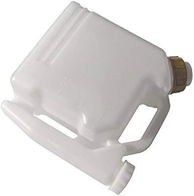 JRL - Botella portátil para mezclar gasolina o aceite, 2 entradas (1 l, 25:1/50:1)