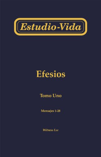 Estudio-vida de Efesios (juego de 3 tomos) (Spanish Edition) [Witness Lee] (Tapa Blanda)
