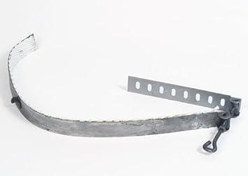 HARK conducto de humos-abrazadera para tubo de chimenea estufa 120 - 200 millimeter: Amazon.es: Hogar