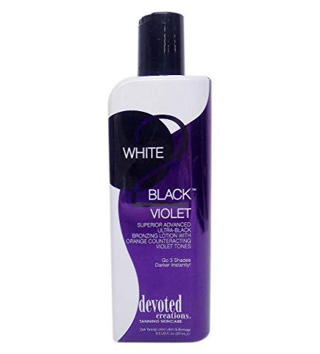 (Devoted Creations WHITE 2 BLACK VIOLET Black Bronzer - 8.5 oz.)
