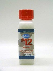 Silicea Cell Salts - Hyland Cell Salt 6X Silicea, 500 ct