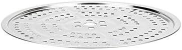 CHENTAOCS Vapeur à deux couches en acier inoxydable 304 de 26 cm, pouvant être réglé avec une paire de gants Haute qualité - le meilleur cadeau