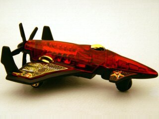 Red Arrows Plane (Hot Wheels - 2007 - Aerial Attack - Poison Arrow - #075/180 - 3 of 4 - Red - Limited Edition - Collectible)