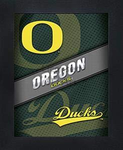 "(Oregon Ducks 3D Poster Wall Art Decor Framed   14.5x18.5""   Officially Licensed NCAA Merchandise   Lenticular Prints   UO Logo   Perfect for Fans of Football, Basketball, Baseball, Softball, Alumni!)"