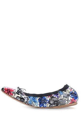 Miu Miu Damen Mcbi209016o Multicolour Leder Ballerinas