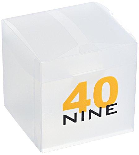 40N4.1 40Nine Solo 43 mm en hand klocka med svart rem