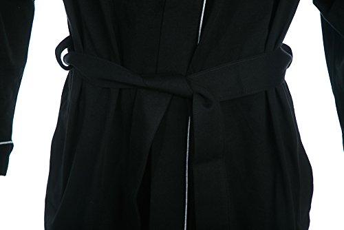 HUGO BOSS Boss Dressing Gown Kimono In Black