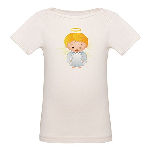 - Truly Teague Organic Baby T-Shirt Christmas Cuties Shining Angel of the Lord - 12 to 18 Months