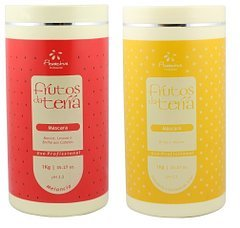 ''Floractive Frutos da Terra Watermelon + Chamomile and Wheat Hair Mask 2KG '' by Floractive Professional