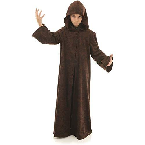 Underwraps Big Boy's Children's Cloak Costume Accessory, Brown, Large Childrens Costume, Brown, Large -