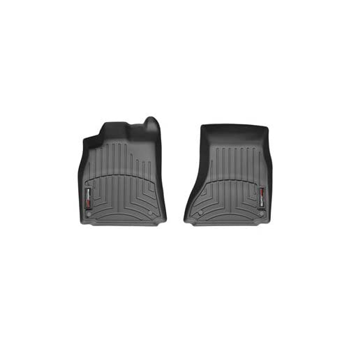New 2009 - 2015 Audi A5 / S5 / RS5 Front Set - WeatherTech Custom Floor Mats Liners - Black hot sale