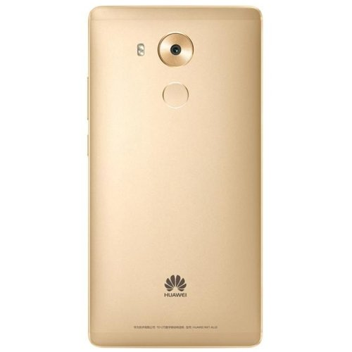 Huawei Mate 8 / NXT-AL10 6.0 Inch EMUI 4.0 (Base on Android 6.0) Smartphone, Hisilicon Kirin 950 Octa Core, 4GB RAM + 64GB ROM GSM & WCDMA & FDD-LTE (Champagne Gold)