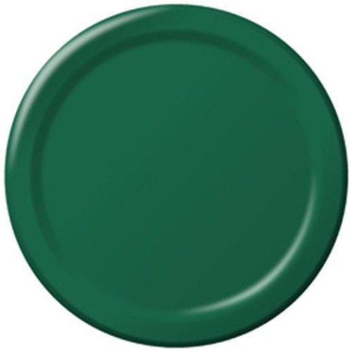 (Hunter Green Dinner Plates)
