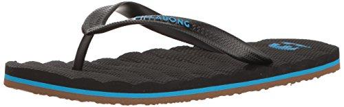 Billabong Mens Dunes All Day Sandal Flip Flop Black/Blue