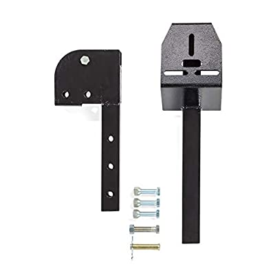 PeCale Hitch tire Carrier Foldable Construction for SUV Easy Hitch Mount Collapsible Mount Rack Adaptor for 2-inch Receiver Front and Back Rear Tailgate: Automotive