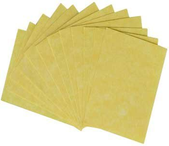 Fortune Telling Toys Spell Writing Parchment Paper Light Weight 12 Pack 3'' x 4'' by AzureGreen (Image #1)