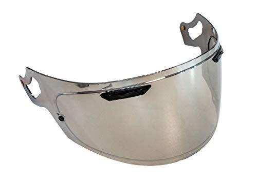 Mirror RX-7X Aftermarket Helmet Visor Chrome Tinted Pinlock Ready Arai Shield RX-7X RX-7V Corsair-X Chaser-X Arai Rx 7 Corsair