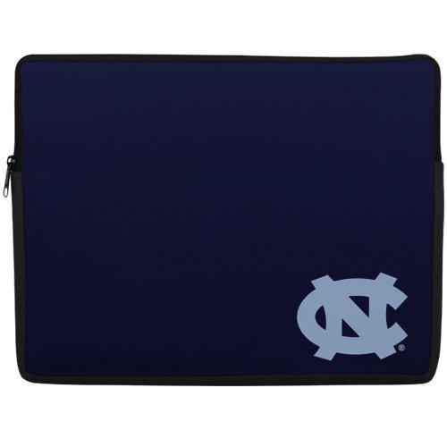 NCAA North Carolina Tar Heels (UNC) 15'' Laptop Sleeve - Navy Blue Laptop Sleeve Football