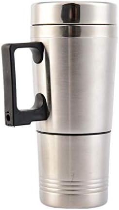 Tragbare auto auto heizung tasse edelstahl kaffee tee wasser heizung 12 v