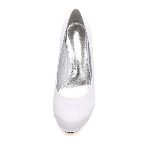 25 Clips Wedding Sposa Scarpe Peep Nere Da Toe L Pompe Shoes 17061 yc Women Court O0xfnqIE