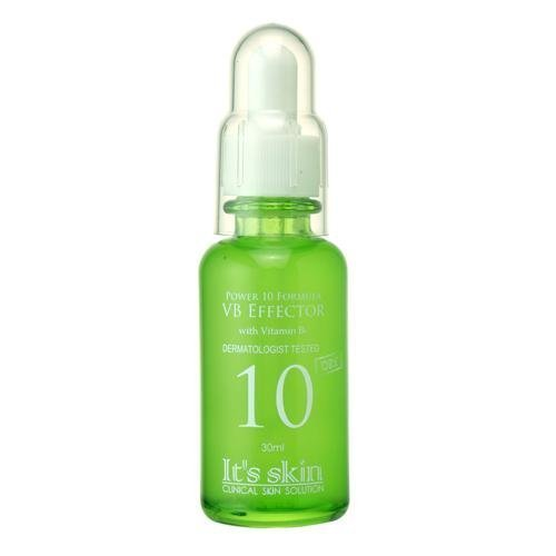 It'S SKIN Power 10 Formula VB Effector Face Serum, 30ml (1.01 fl oz) - Vitamin B Caster Oil for Sebum Control (Control Sebum Serum)