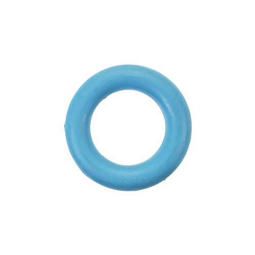 Premium Puppy Teething Fetching Ring Dog Chew and Play Toy, (Solid Core Bone)