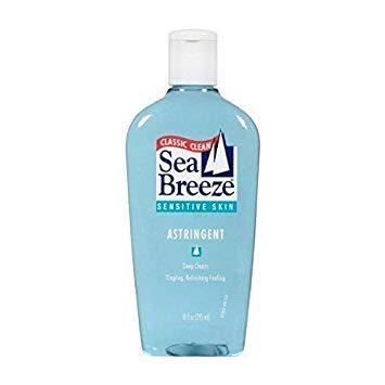 - Sea Breeze Sensitive Skin Astringent 10 oz (Pack of 3)