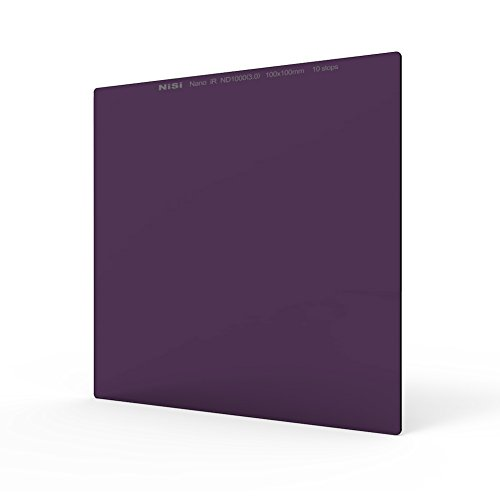 NiSi 100x100mm ND 1000(3.0) 10 PASOS/Paradas Filtro de Densidad Neutra, Vidrio Optico,IR Nano Multicapa Revestimiento
