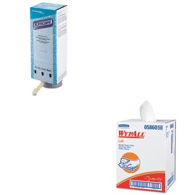 KITKIM05860KIM91726 - Value Kit - KIMBERLY CLARK KIMCARE Hair amp;amp; Body Wash (KIM91726) and Wypall 05860 Professional Towels (KIM05860)