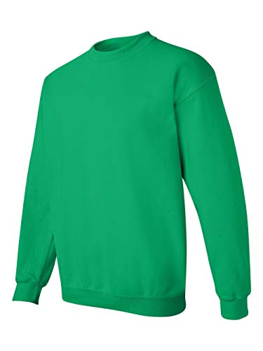 Gildan Men's Heavy Blend Crewneck Sweatshirt - XXXXX-Large - Irish Green