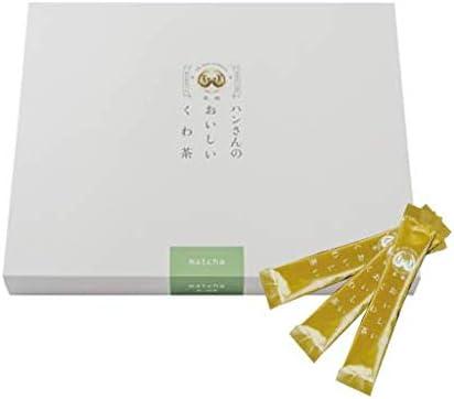 桑茶 粉末 山梨県産 桑の葉 抹茶ブレンドパウダー スティック60包 薄型箱 日本茶製法