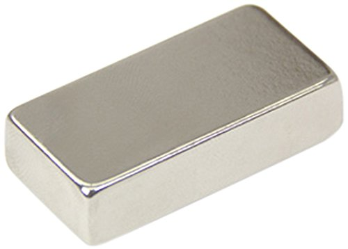 Magnet Expert® 40 x 20 x 10mm thick N42 Neodymium Magnet - 21.7kg Pull ( Pack of 1 ) Magnet Expert® F402010-1