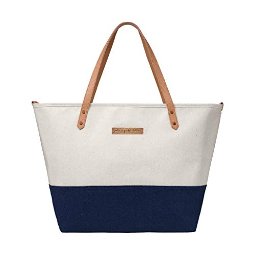 Petunia Pickle Bottom Downtown Tote, Birch/Nautical