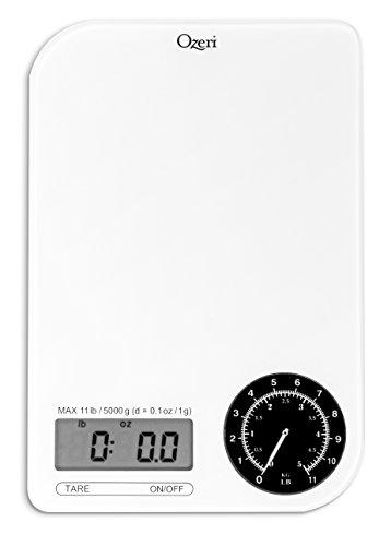 Ozeri Kitchen Scale Electro-Mechanical Weight