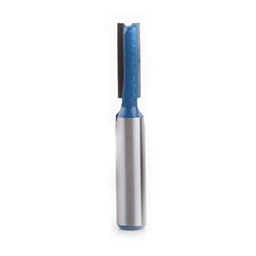 REFURBISHHOUSE 7 Stueck 8mm Schaft hohe Qualitaet Gerade//Sockel Fraeser Set 6,8,10,12,14,18,20mm Durchmesser Holz Schneidwerkzeug