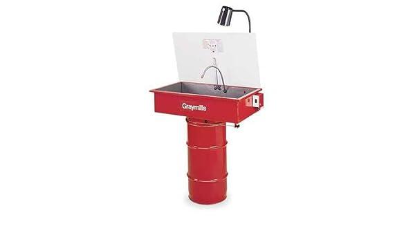 graymills dmd232 Tambor de lavadora de piezas: Amazon.es: Coche y moto