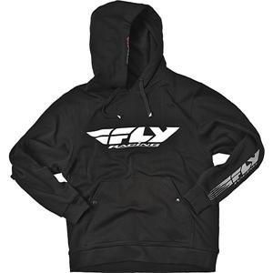 Fly Racing Corporate Hoodie - Large/Black/White