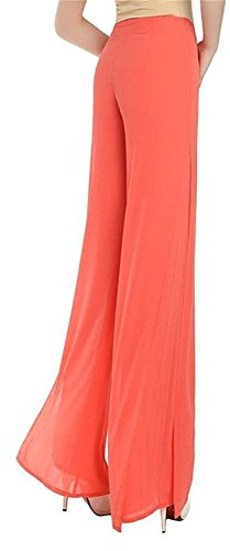 zalezing-nice-womens-casual-chiffon-palazzo-trousers-culottes-wide-leg-pants-ladies-27-orange27