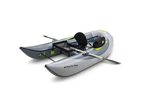 Outcast Stealth Pro Frameless Boat (Best Frameless Pontoon Boat)