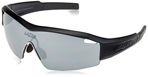 Lazer SS1 Sunglasses Matte Black with Interchangeable - Face Lazer Sunglasses