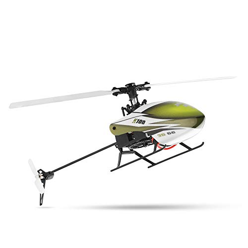 USB Charger Remote Control Airplane, Aerodynamically 6CH 3D 6G System RTF RC Helicopter Built-in Gyro Super Stable Flight(XK K100) (Rc Trainer Arf)