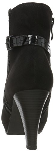 Kurzschaft COMB Schwarz BLACK Stiefel 25400 Marco Tozzi Damen 098 qHxpwtnRfW