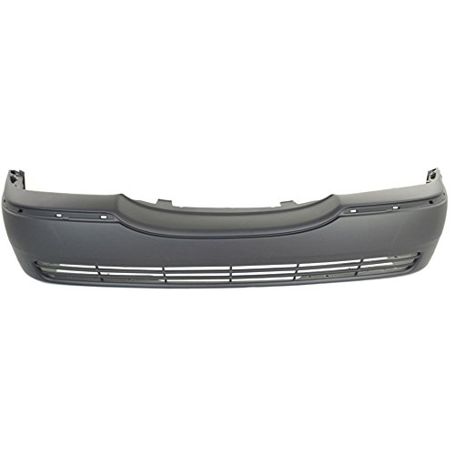 New Evan-Fischer EVA17872027996 Front BUMPER COVER Primed for 2003-2011 Lincoln Town Car